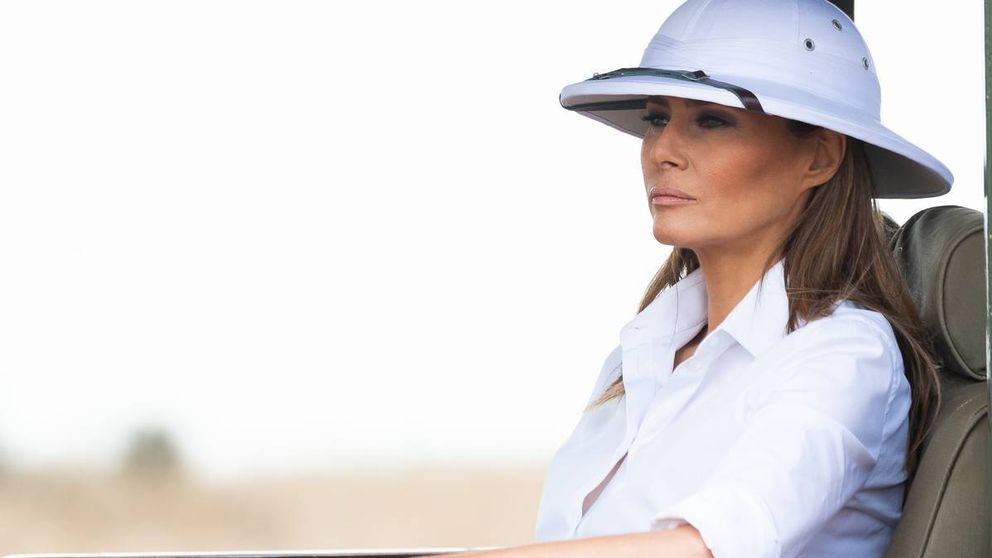 Melania Trump no logra que el final de su viaje africano se escape de las críticas