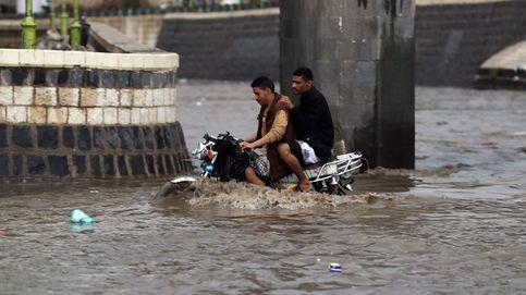 Fuertes lluvias en Yemen