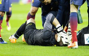 El Mónaco descarta el fichaje de Víctor Valdés por culpa de su lesión