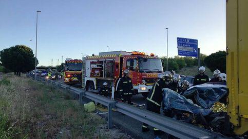 Accidente en la M-50 en la una persona de 20 años ha fallecido (112 Madrid)