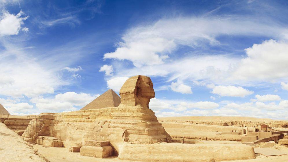 Foto: La famosa Gran Esfinge de El Cairo. (CC)