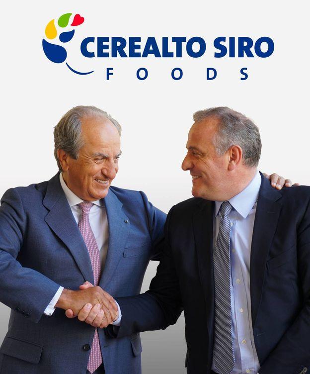 Foto: Foto de la fusión entre Siro y su filial Cerealto.