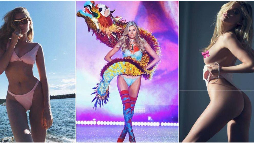 Panceta, lentejas y sándwiches: la dieta de una modelo de Victoria's Secret