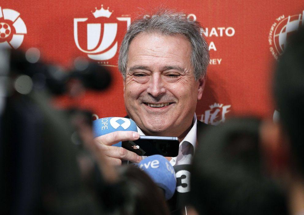 Foto: Alfonso Rus, presidente del Olímpic de Xàtiva (Efe).