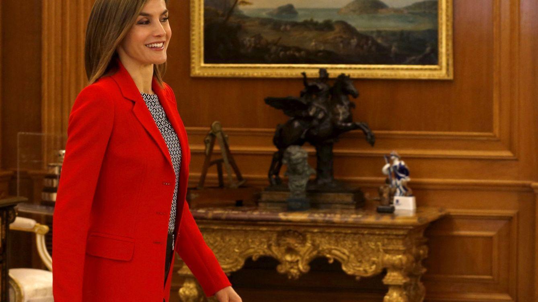 Foto: Doña Letizia premia al mundo de la moda