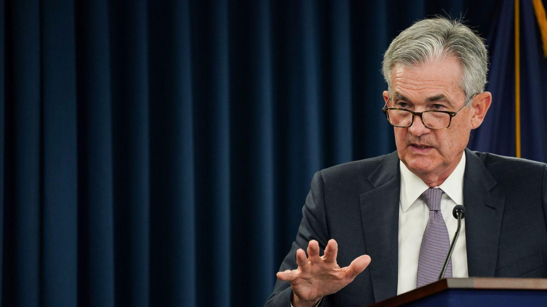 Jerome Powell, presidente de la Fed. (Reuters)