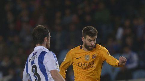 Arbeloa se mofa de la derrota del Barça y Piqué le menosprecia