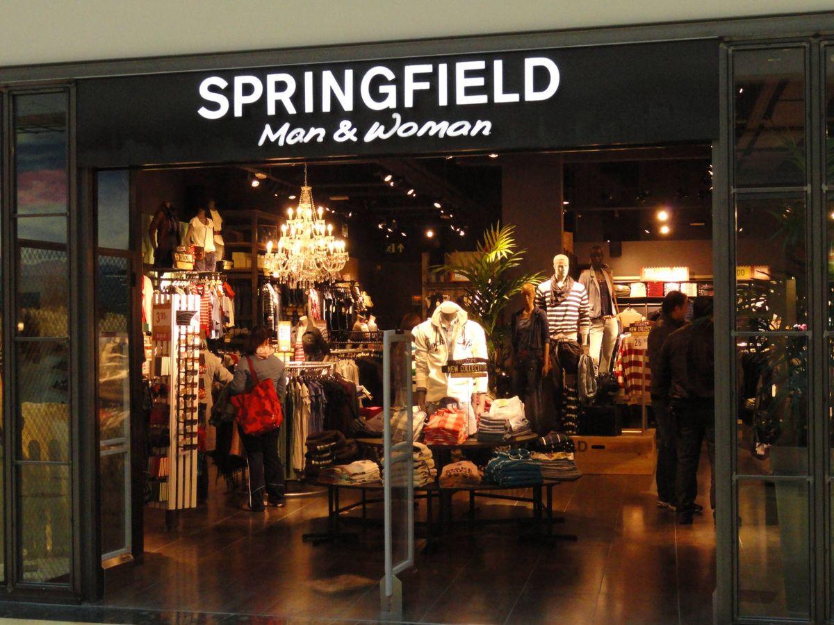 Foto: Una tienda de Springfield, perteneciente a Tendam.