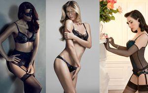 Todas quieren posar en ropa interior... menos Heidi Klum