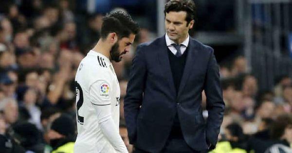 Real Madrid La Sentencia Definitiva De Solari A Isco No