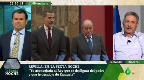 El consejo de Revilla a Felipe VI para conservar la monarquía