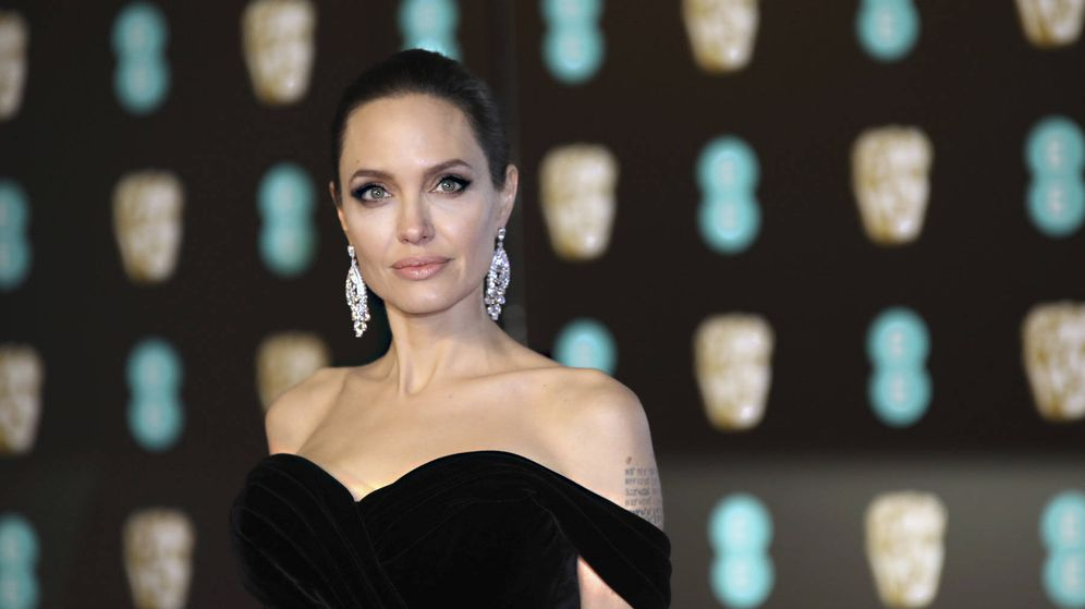 Foto: Angelina Jolie en los BAFTA. (Gtres)