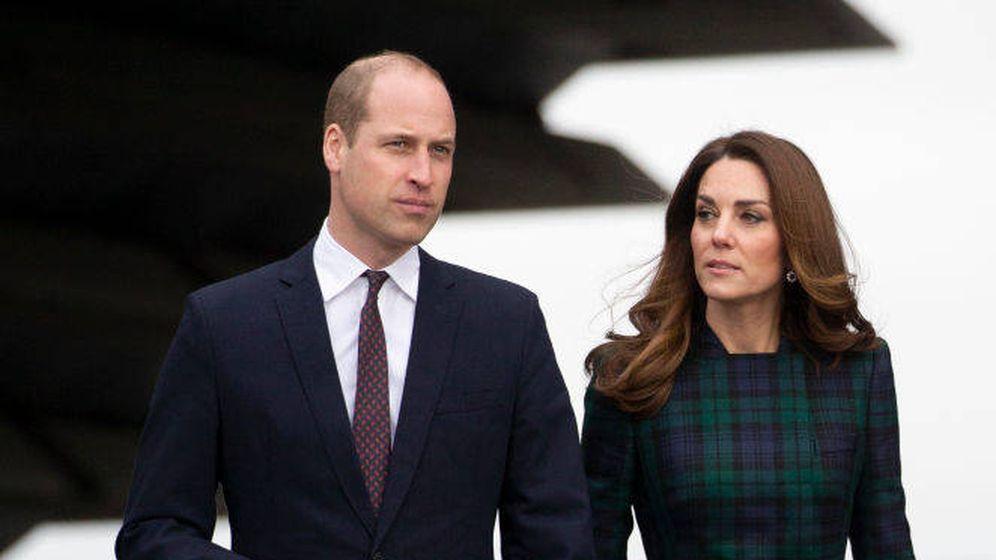 Foto: Los duques de Cambridge en una imagen de archivo. (Getty)