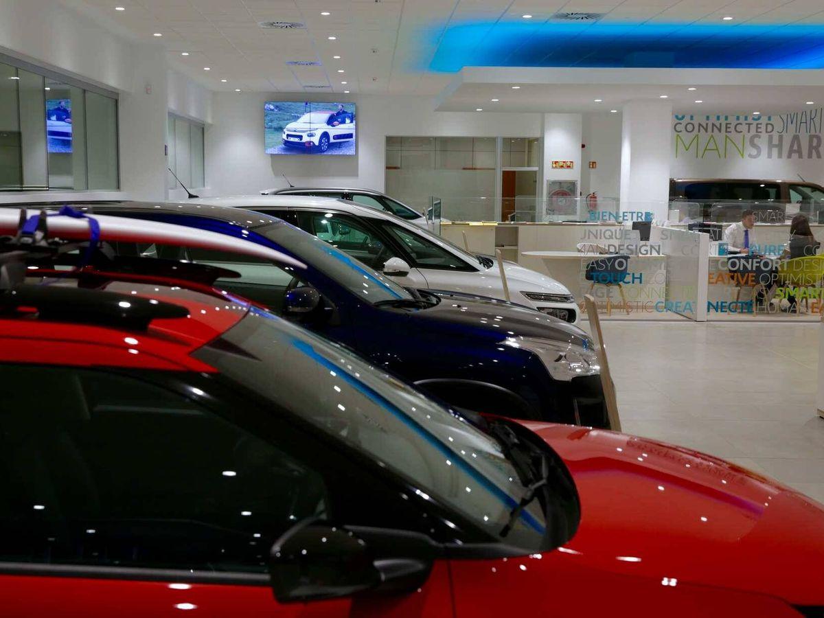 Foto: Concesionario de coches.