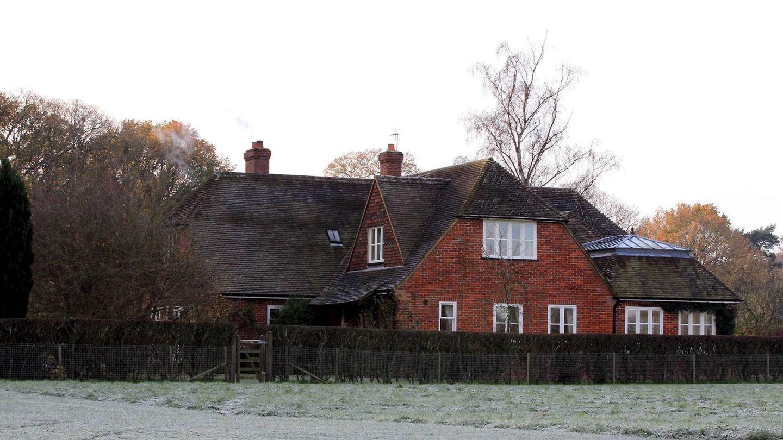 Vista general de la casa de los padres de Kate Middleton. (Cordon Press)
