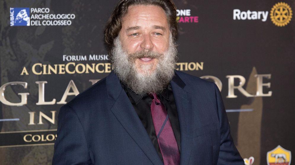 Foto: Russell Crowe con 55 años. (EFE)