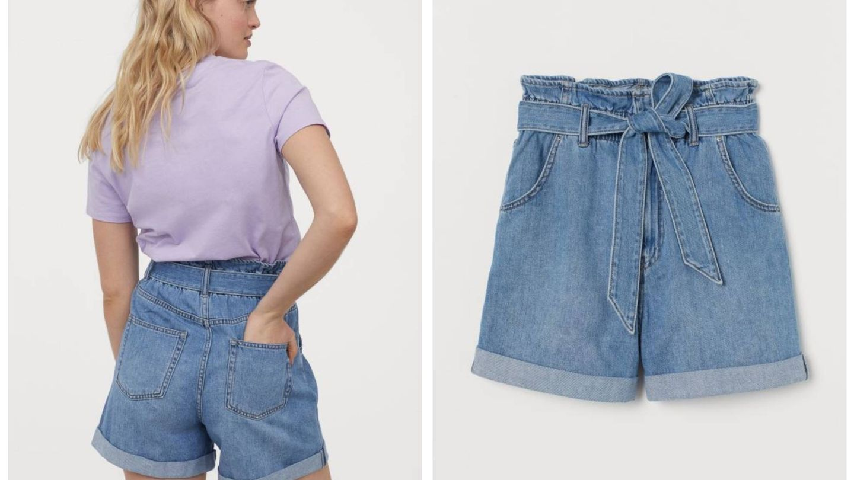 El pantalón corto de HyM. (Cortesía)