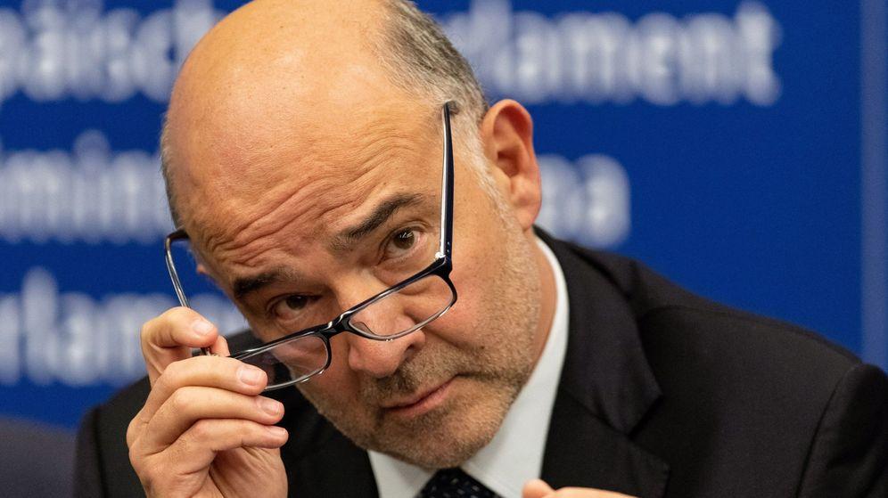 Foto: El comisario europeo de Asuntos Económicos, Pierre Moscovici. (EFE)