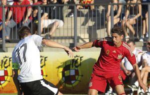 La sub-21 se queda sin pleno tras un gol de Austria en el minuto 94