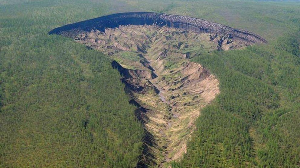 El misterio del gran cráter de Siberia al que no se puede poner fin