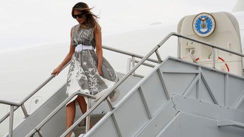 El avión de Melania Trump, obligado a aterrizar por humo en la cabina