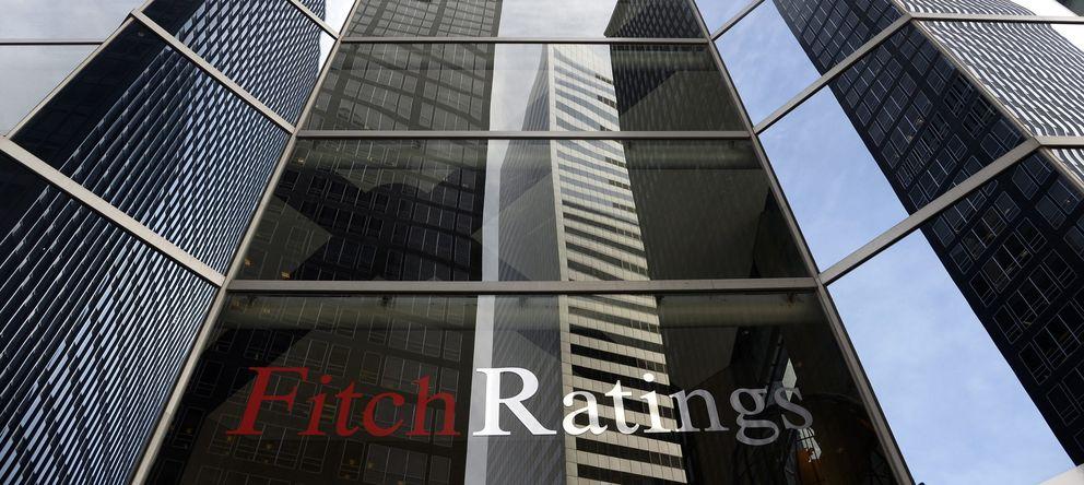 Foto: Vista exterior de las oficinas de Fitch Ratings en Nueva York. (EFE)