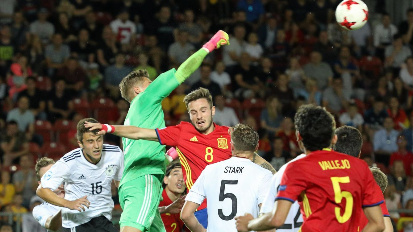 Foto: Spain vs germany (EFE)
