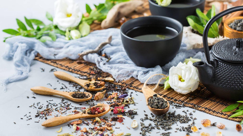 Juego de té chino. (iStock)