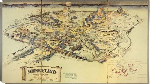 Vendido un mapa del primer parque de Disney