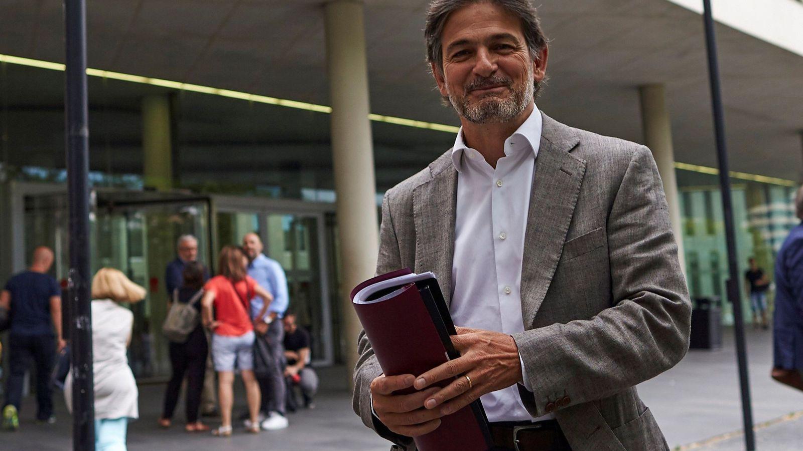 Foto: El hijo del expresidente de la Generalitar, Oriol Pujol. (EFE)