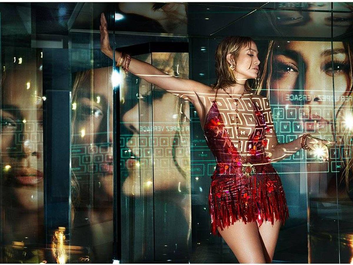 Foto: JLo para Versace.