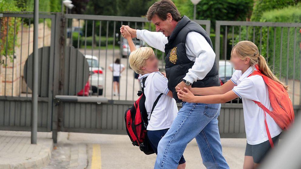 Los hijos de Cayetano y Genoveva, del internado inglés al 'cole' de los Beckham