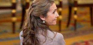 Post de El tiempo entre costuras de la infanta Elena: da clase en Madrid y en una escuela histórica