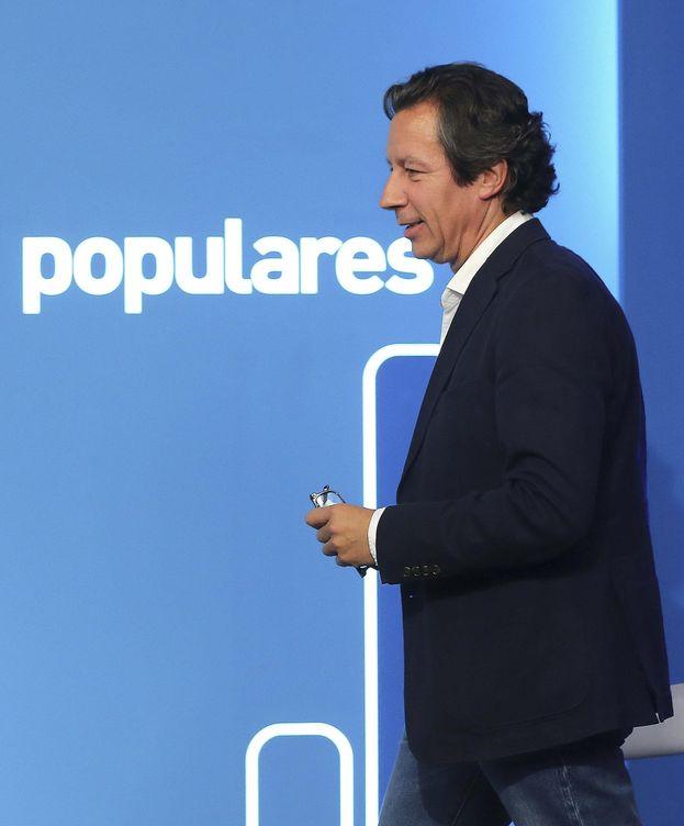 Foto: El vicesecretario de Organización y director de campaña de los populares, Carlos Floriano (EFE)