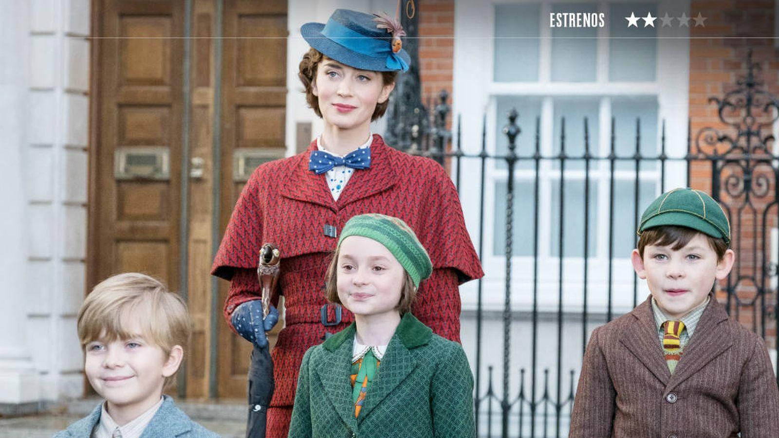 Foto: Emily Blunt es la protagonista de 'El regreso de Mary Poppins'. (Disney)