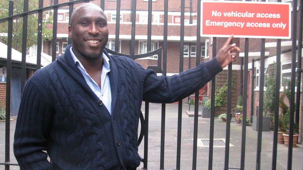 Foto: Sol Campbell, candidato a ser 'Mayor' londinense (David Ruiz).