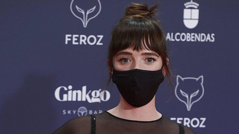 Susana Abaitua, en los Premios Feroz. (Cordon Press)