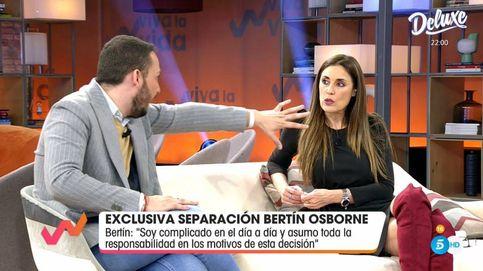 'Viva la vida': encontronazo de Avilés e Isabel Rábago por la separación de Bertín Osborne
