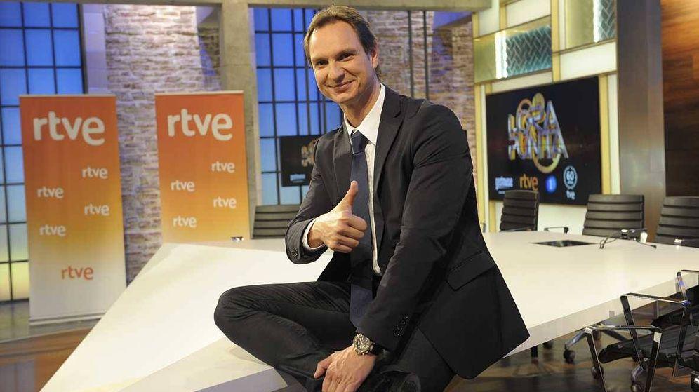 Foto: Javier Cárdenas, presentador de 'Hora punta' en TVE.