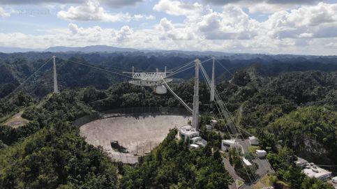 Colapsa el telescopio de Arecibo, famoso por aparecer en una película de James Bond