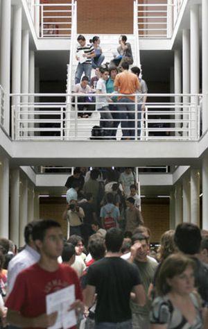 La crisis deja sin dinero a la Universidad
