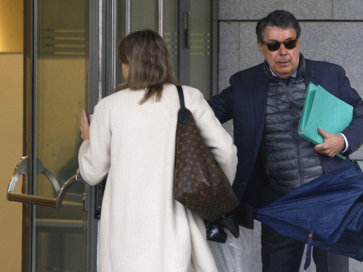 Foto: El expresidente madrileño, Ignacio González, a su llegada a la Audiencia Nacional en 2019. (EFE)