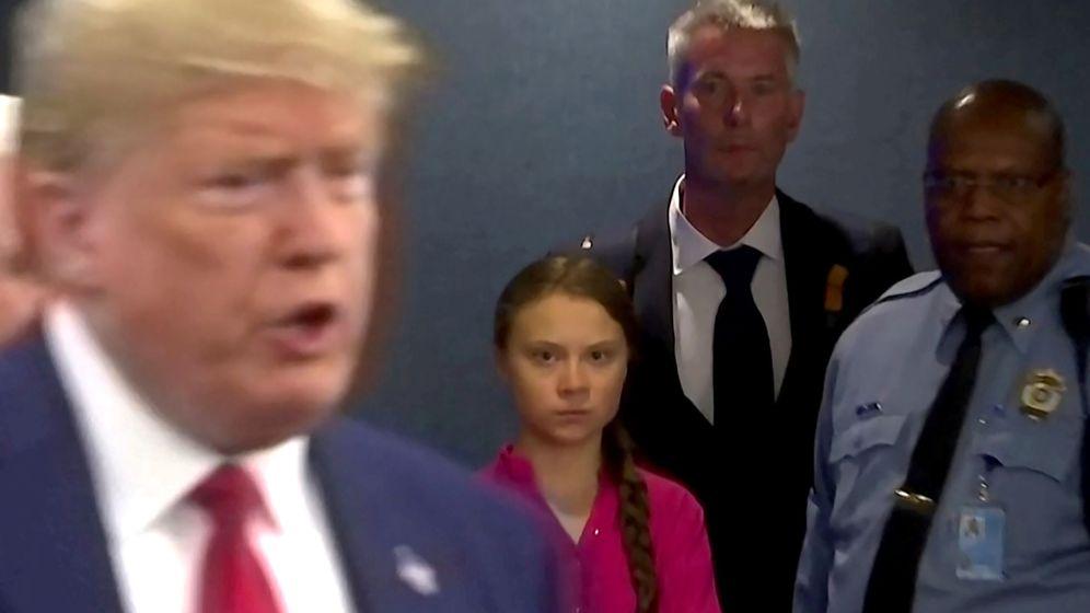 Resultado de imagen para greta thunberg donald trump