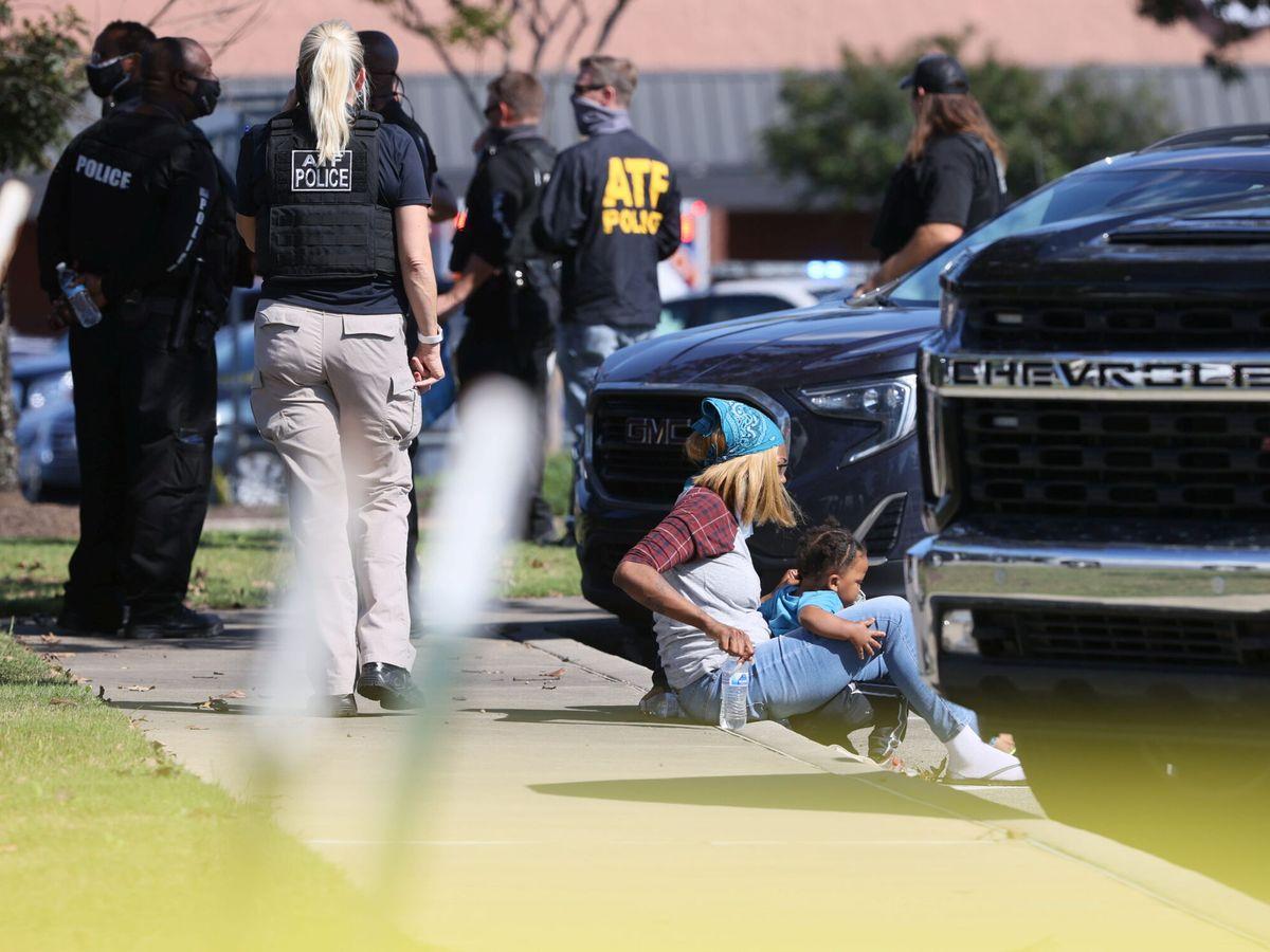 Foto: DOce heridos en un tiroteo en un supermercado de Tennessee. Foto: Reuters