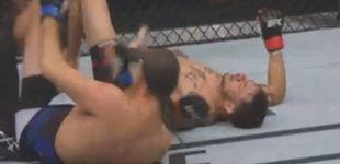 Post de Swanson, el expandillero cruelmente estrangulado en UFC