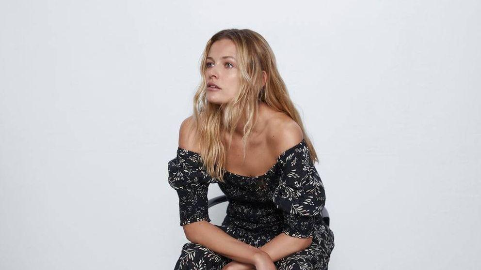 Si estás buscando un vestido que estilice y te haga perder una talla, está en Zara