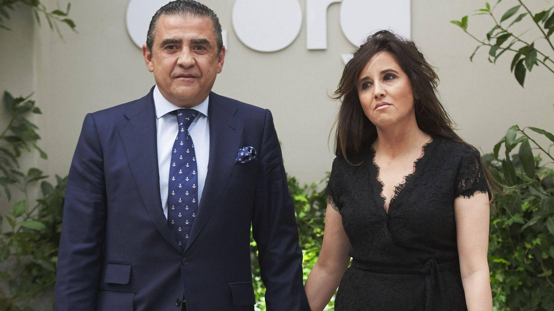 Jaime Martínez-Bordiú y su actual pareja, Marta Fernández. (Getty)