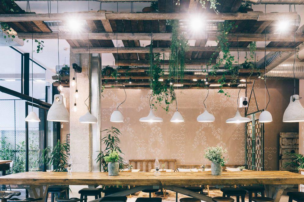 Foto: El restaurante Honest Greens ofrece productos naturales, bio y de proximidad.