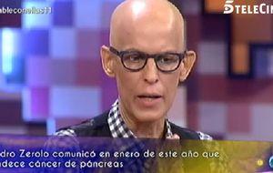 Pedro Zerolo lleva su optimismo a Telecinco