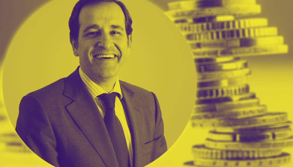 Foto: Javier de Jaime, en un montaje de El Confidencial.